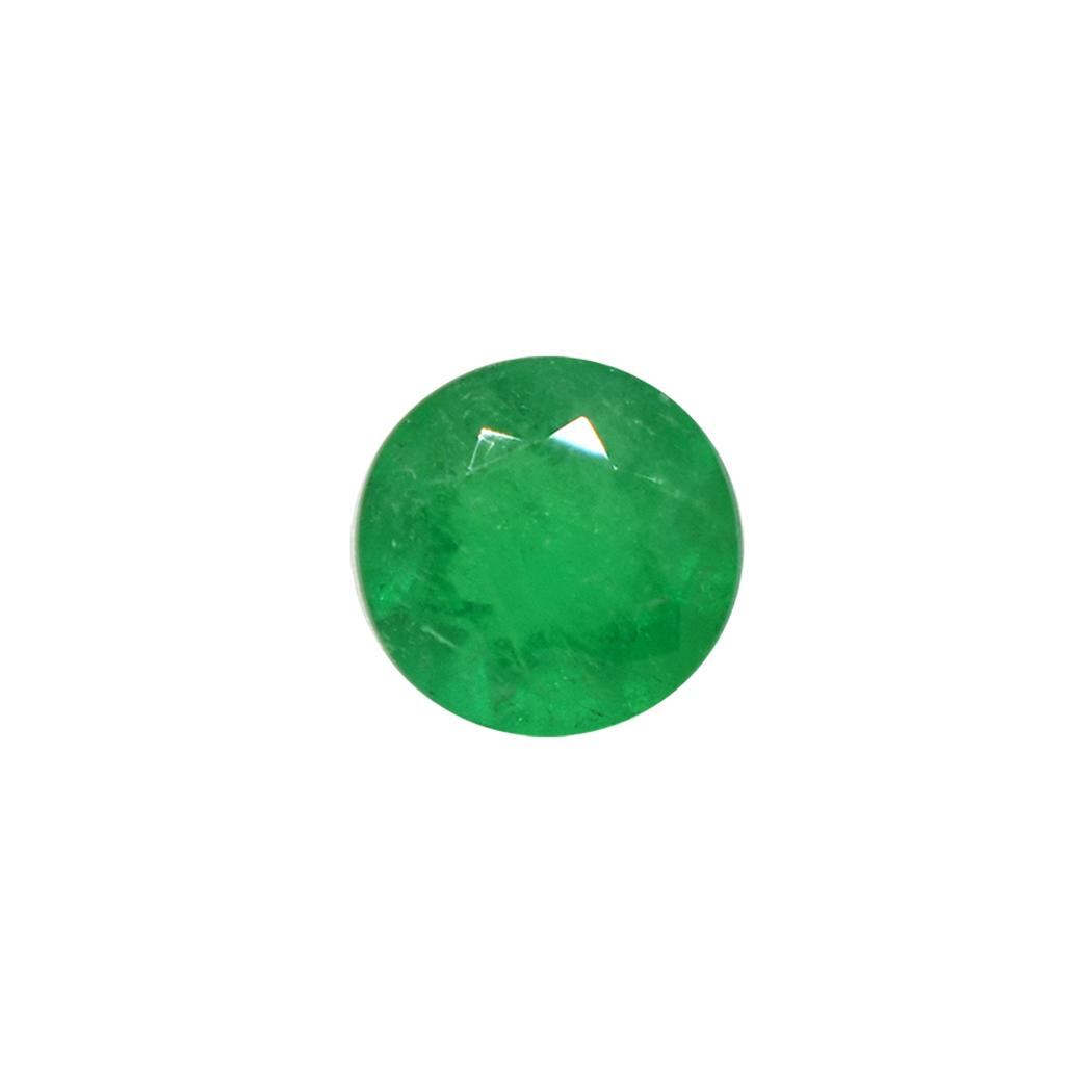 Loose Round Cut Natural Colombian Emerald
