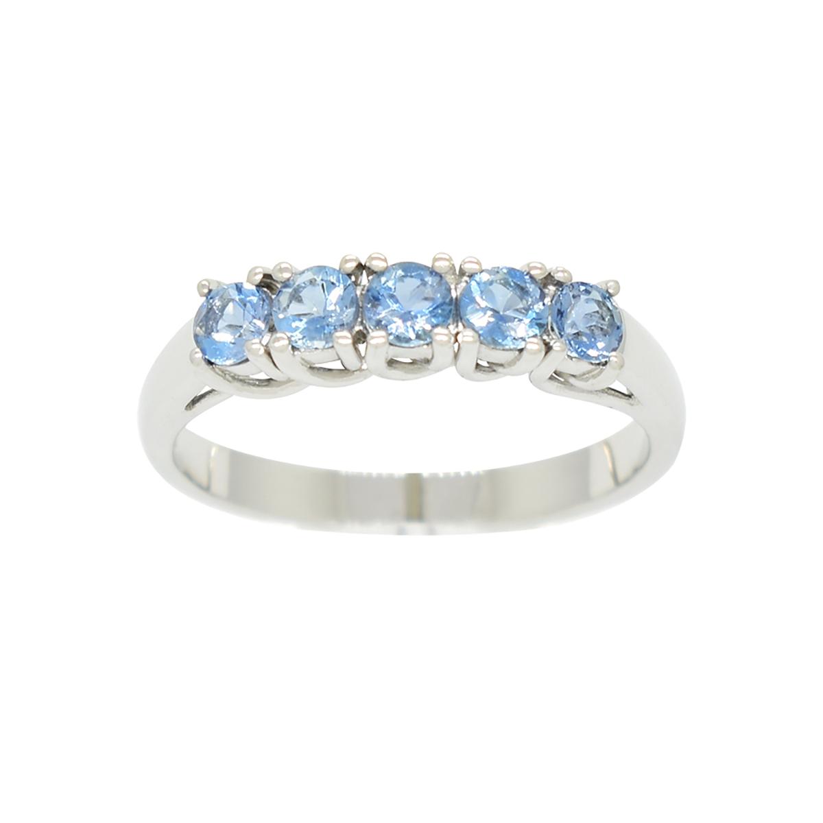 18k-white-gold-aquamarine-half-eternity-wedding-band-ring