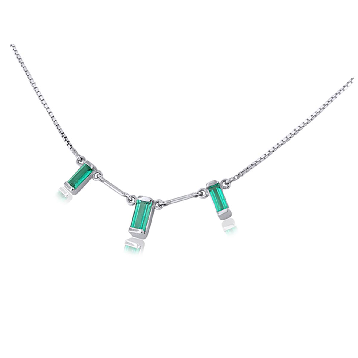 18k-white-gold-emerald-necklace-with-baguette-cut-natural-emeralds
