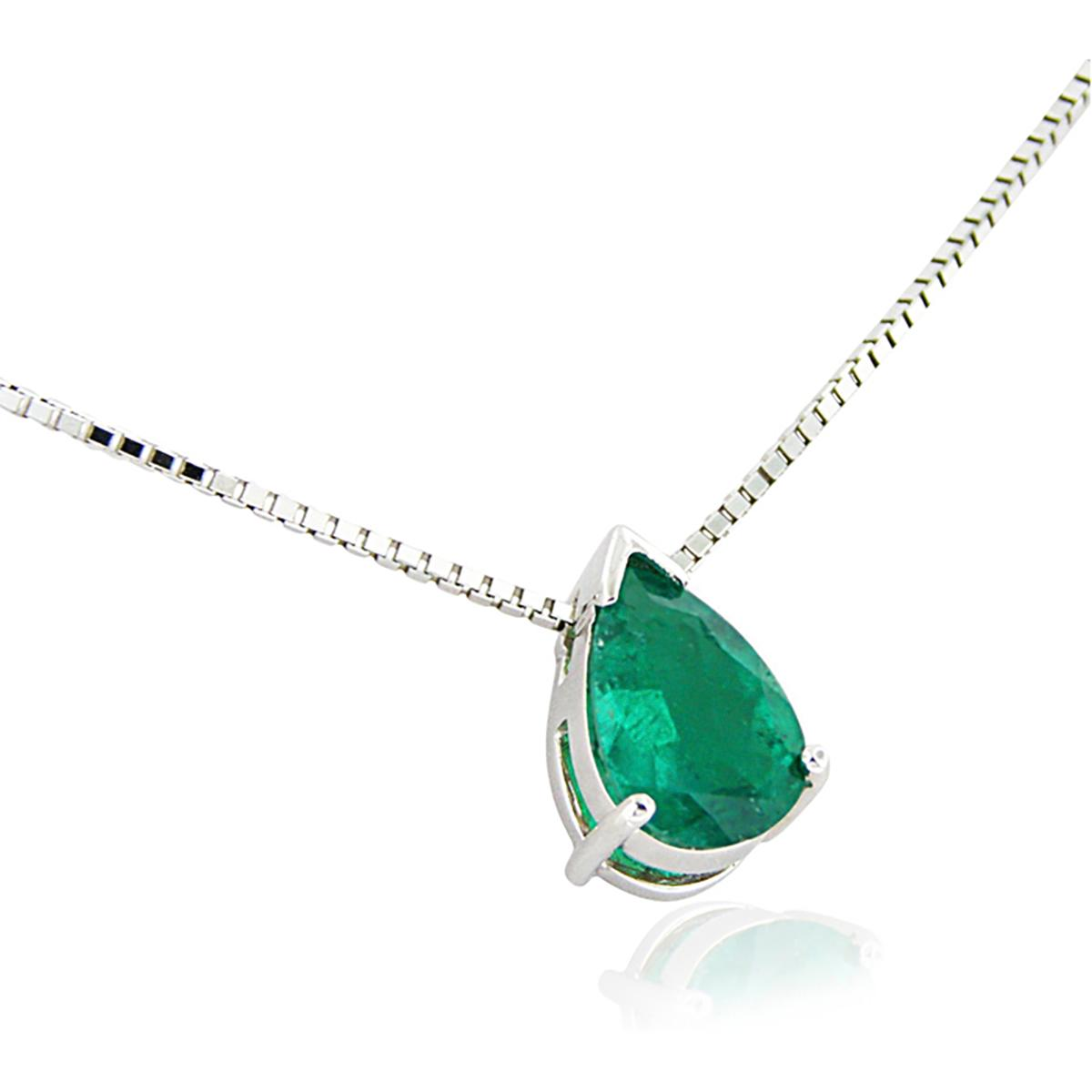 pear-shape-emerald-solitaire-necklace-in-18k-white-gold
