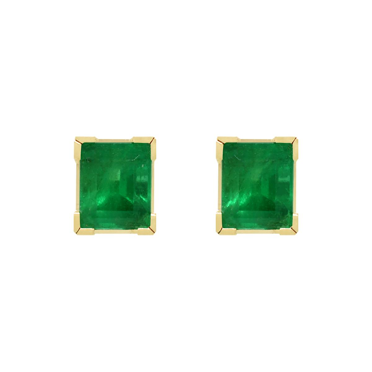 stud-emerald-earrings-in-classic-18k-yellow-gold-square-shape-stud-earrings