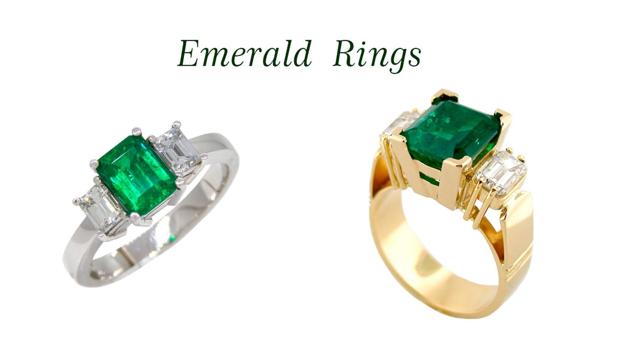 Emerald Rings